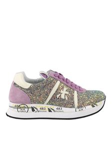 Premiata - Conny 4505 glitter embellished sneakers