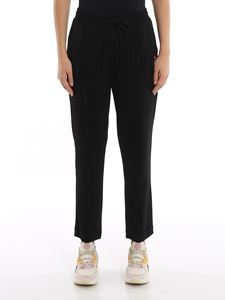 Love Moschino - Fluid cady jogging pants
