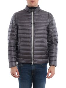 Herno - Removable sleeves puffer jacket