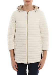 Herno - Removable hood reversible padded coat