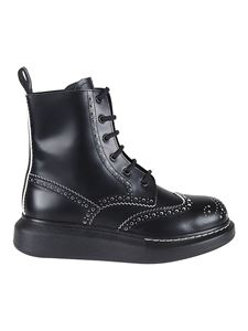 Alexander McQueen - Hybrid ankle boots