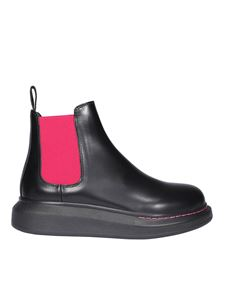 Alexander McQueen - Chelsea Hybrid ankle boots