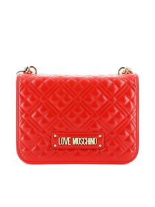 Love Moschino - Quilted shoulder bag with logo
