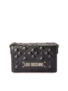 Love Moschino - Black faux leather cross body bag