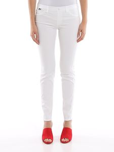 Love Moschino - Lightweight jeans with elasticated waist