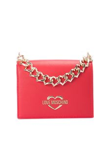 Love Moschino - Chain Hearts shoulder bag