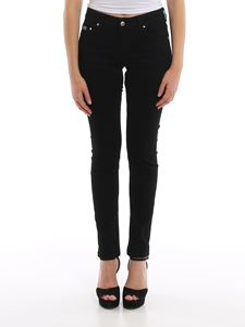 Versace Jeans Couture - Embroidered denim jeans