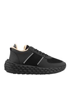 Giuseppe Zanotti - Urchin black leather sneakers