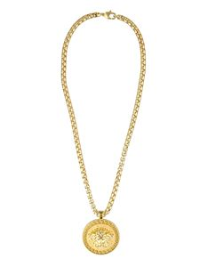 Versace - Medusa Head medallion necklace