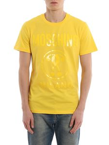Moschino - Logo print yellow Tee