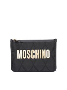 Moschino - Tech fabric clutch