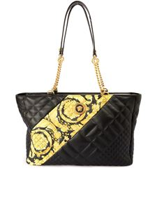 Versace - Quilted leather tote