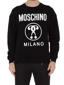 Moschino - Double Question Mark black sweatshirt