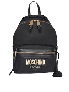 Moschino - Logo backpack