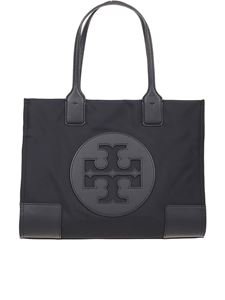 Tory Burch - Ella Mini black nylon tote