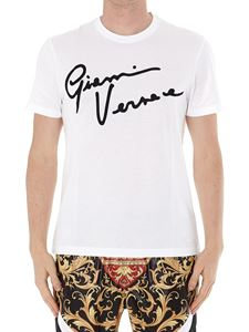 Versace - GV Signature embroidery T-shirt
