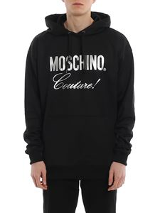 Moschino - Laminated logo sweatshirt