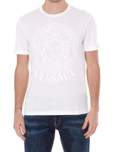Versace - Medusa print cotton T-shirt