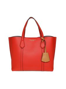 Tory Burch - Perry red leather small tote
