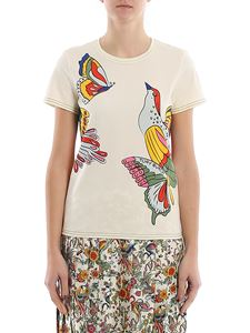 Tory Burch - T-shirt con stampa Promised Land Large Bird