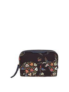 Tory Burch - Perry floral printed zip-around beauty case