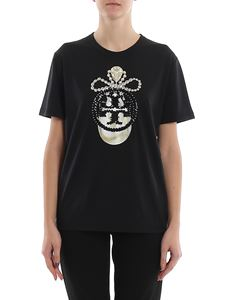 Tory Burch - Sequined logo printed T-shirt