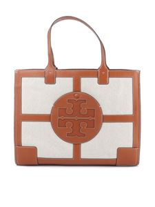 Tory Burch - Ella canvas quadrant tote