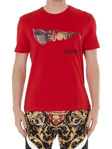 Versace - Medusa Biggie print cotton T-shirt