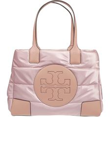 Tory Burch - Ella mini satin nylon puffer tote