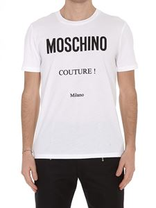Moschino - Logo crew neck T-shirt