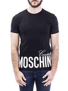 Moschino - Moschino Couture print black T-shirt