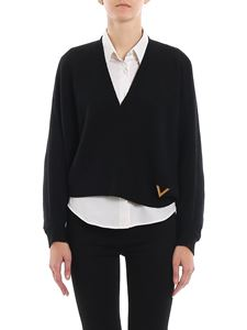 Valentino - Cashmere V-neck sweater