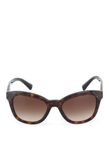 Valentino - Tortoiseshell brown sunglasses