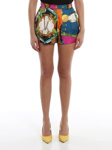 Versace - Baroque Rodeo printed shorts