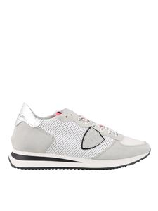 Philippe Model - Sneakers Tropez in pelle traforata