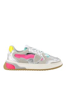 Philippe Model - Sneakers Saint Denis in pelle laminata