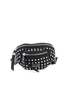 Versace Jeans Couture - Studded satin belt bag