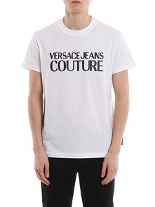 Versace Jeans Couture - Rubberised logo lettering patch T-shirt