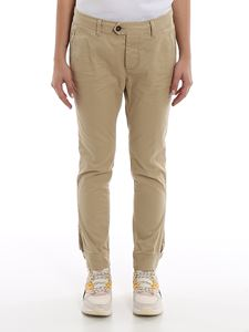 Dsquared2 - Military crop twill trousers