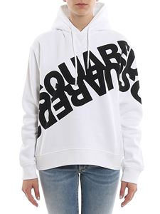 Dsquared2 - Mirrored Logo cotton hoodie