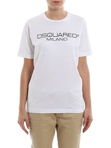 Dsquared2 - Milano white cotton Tee
