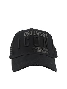 Dsquared2 - Logo prints and embroidery baseball cap