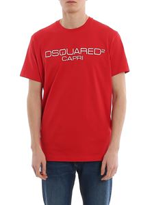 Dsquared2 - T-shirt in jersey con stampa logo