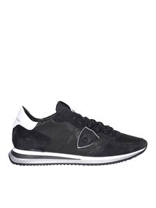 Philippe Model - Tropez X leather and suede sneakers