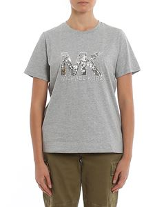 Michael Kors - Sequined logo T-shirt