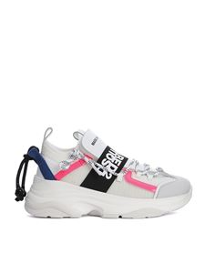 Dsquared2 - D-Bumpy One logoed band sneakers