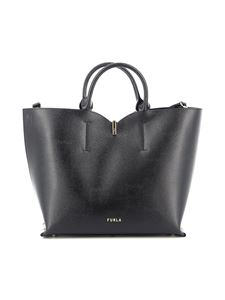 Furla - Tote Ribbon media nera