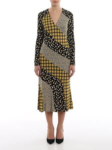 Michael Kors - Patchwork viscose jersey maxi dress