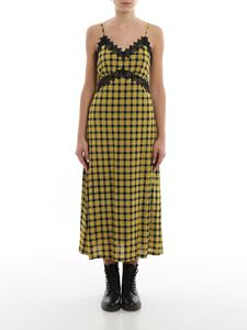 Michael Kors - Tartan viscose jersey maxi dress