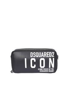 Dsquared2 - Icon logo printed bag